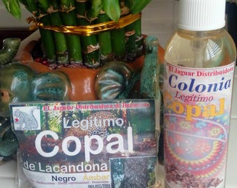 Copal Incense & Fragrance Spray (Mayan- Aztec -Toltec incense)
