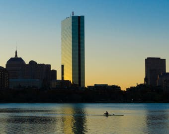 Rowing on the Charles - Boston, MA