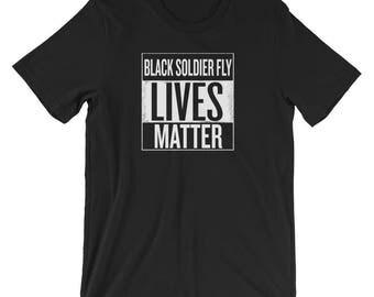 Black Soldier Fly Lives Matter T-Shirt