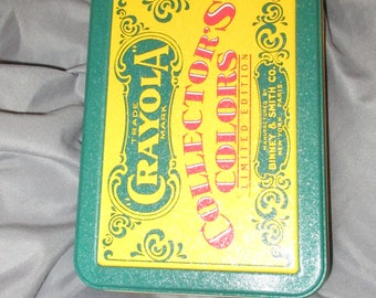 Crayola Crayon Collector's Colors Limited Edition Tin