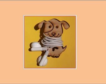 Dog Earbud Organizer