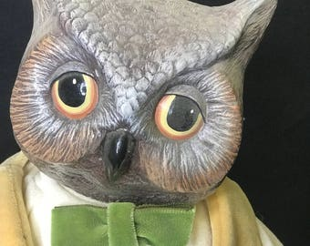 Owl Animal Doll Handmade