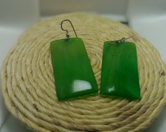 Earring made of zebu Horn