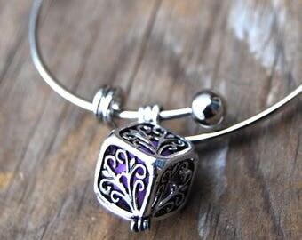 Box Charm Diffuser Bracelet