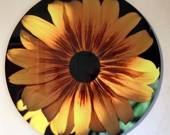 Sunflower Metal Garden Art Sunflower Wall Art Rusty Metal
