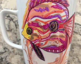 Colorful Exotic Aquatic Mug