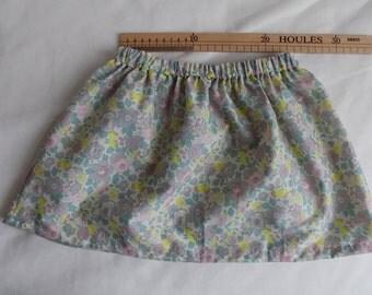 Liberty skirt for girls 4-6 years