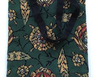 Bag velvet flower