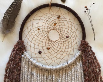 Cozy Cabin Vibes Dream Catcher