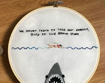 Jaws Embroidery