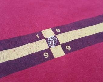 Vintage Tommy Hilfiger 1999 Rolling Tour Promo Longsleeve Shirt 90s