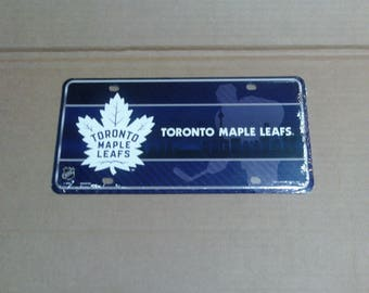 Toronto Maple Leafs License Plate