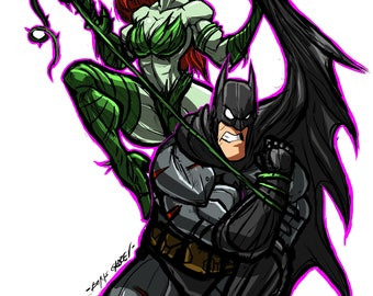 Poison Ivy vs. Batman