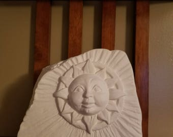 Sunface Garden Stone