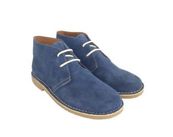 Desert JEANS suede boots