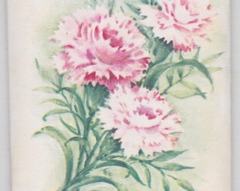 Vintage Carnation Sachet,  a Treasure Masters Original made in Derry, New Hampshire