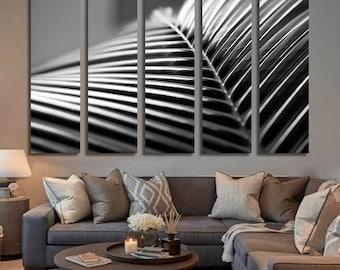 Big Black Palm, Palms, Palm Leaves, Exotic, Island, Tropical Canvas, Digital Art, Canvas Print, Canvas, Pin Board, Canvas Art, Canvas Decor