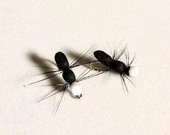 Foam Ant Terrestrial Fly - Ant Dry Fly - Multiple Sizes - Foam Terrestrial Fly - Fly Fishing Fly - Trout Fly
