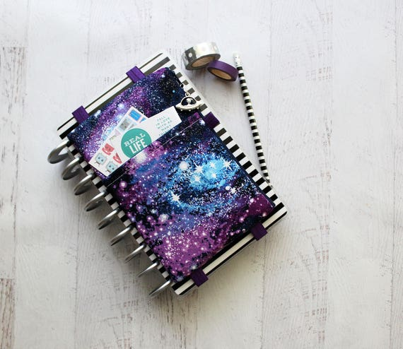 Galaxy Print Planner Pouch