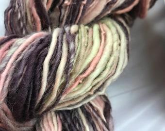 Darling Handspun Handdyed Wool Yarn