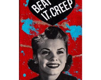 Beat It,Creep COLLAGE ART