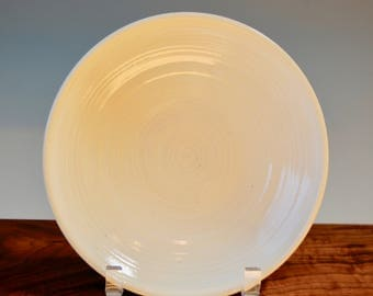White Textured Plate **