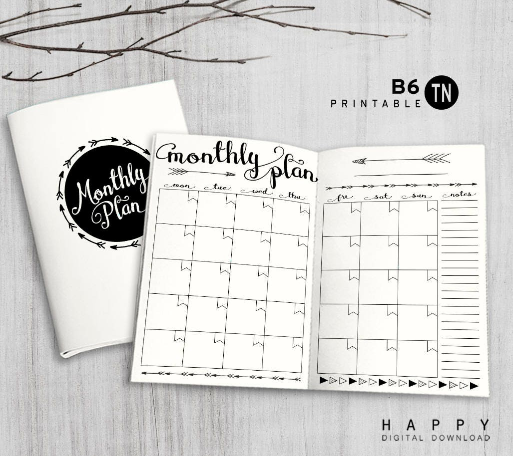 Irresistible image within free printable b6 inserts