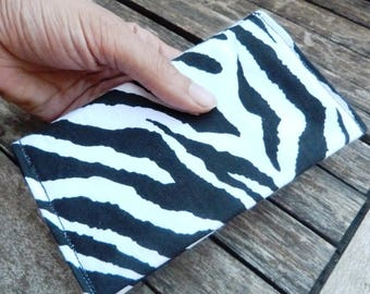 Zebra Tobacco pouch #034 recycled materials