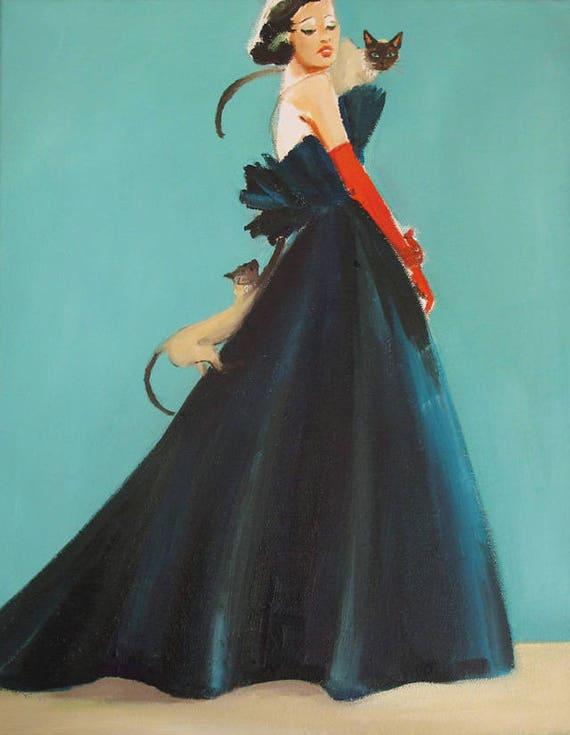 Katrina. Art Print