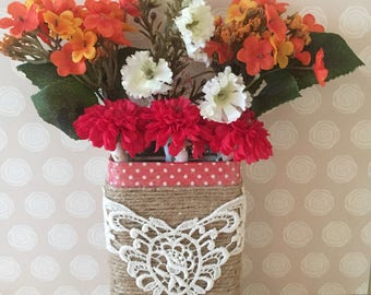 Farm Friendly - Small Potted Pens - A bouquet of flower pens in a coordinating holder.