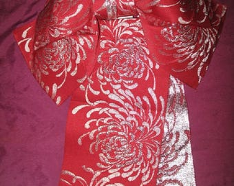 Vintage Kimono Pre-Fab Obi for Simplicity Wear