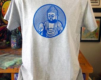 Buddha screen print t-shirt