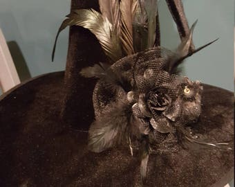 Owl Black Witches Hat