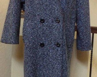 Vintage Jill Jr. Ladies Long Double Breasted Coat