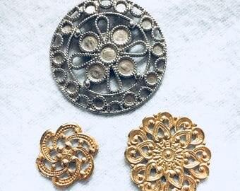 Vintage findings embellishments