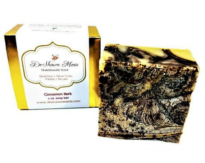 Cinnamon Bark Handmade Soap