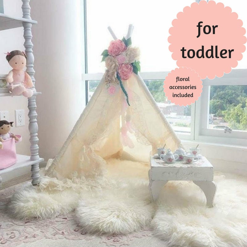 & Small Teepee with flowers - Baby Bianca Bundle
