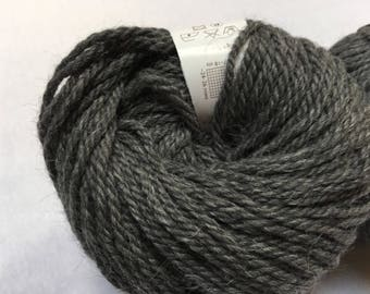 Four Skeins Elsebeth Lavold Calm Wool, Destash Gray Wool, Camel, Alpaca, Italian Knitting Fiber