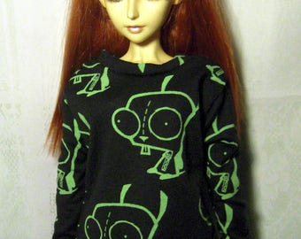 Gir sweatshirt for SD, luts delf, 1/3 bjd DOLL