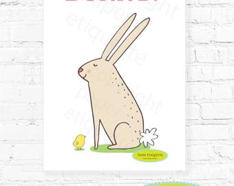 how to play pin the tail on the bunny