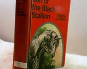 "1947 Son of The Black Stallion, Walter Farley-HC ""First Printing"" Random House, Illustrated, Ex-Lib, Horse Classic Series"