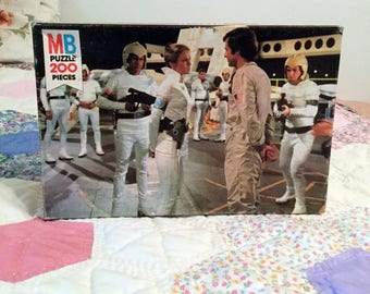 Vintage Buck Rogers Puzzle, Milton Bradley, 200 Piece Puzzle is Unopened in Original Box, Rare Toy Collectible, Series 4995, Dated 1979