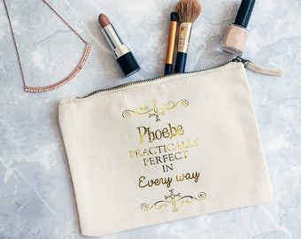 Practically Perfect Make Up Bag