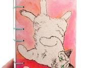 Pink Cat Journal - Lay Fl...