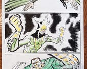 Spider-Man Villains Sinister Six Profiles, Page 2 of 2, Original Michel Fiffe Art