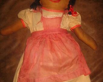 Vintage Rag Doll, Very Nicely Made