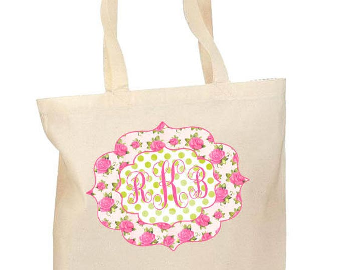 Bridesmaid Bags, Personalized Bride Tribe Bags, Matching totes, Monogrammed Canvas Totebag, Mother of the Bride bag, Mother of the Groom