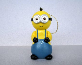 Two Eyed Minion Ornament