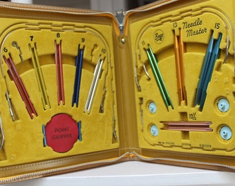 Interchangeable Knitting Needles Boye Needle Master VINTAGE by Plantdreaming