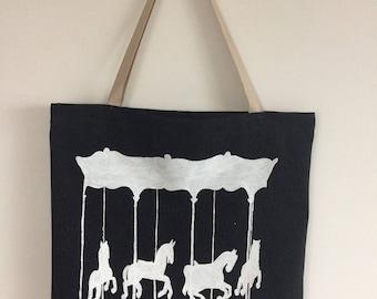 Tote Bag Black carousel